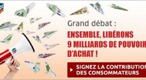 Grand Débat : ensemble, libérons 9 milliards d'euros de pouvoir d'achat